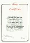 Certyfikaty producentów ikontrahentów
