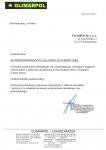 Certyfikaty producentów i kontrahentów