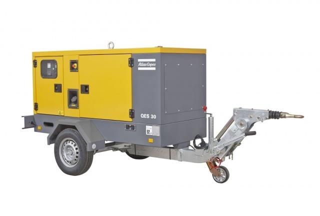 Oryginał Agregat prądotwórczy Atlas Copco QES 40 LH03