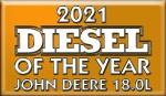John Deere 18.0 L silnikiem roku 2021 !