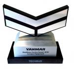 Doskonałość ijakość firmy TECHBUD doceniona przez firmę YANMAR