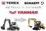 Terex i Schaeff od teraz w barwach Yanmar